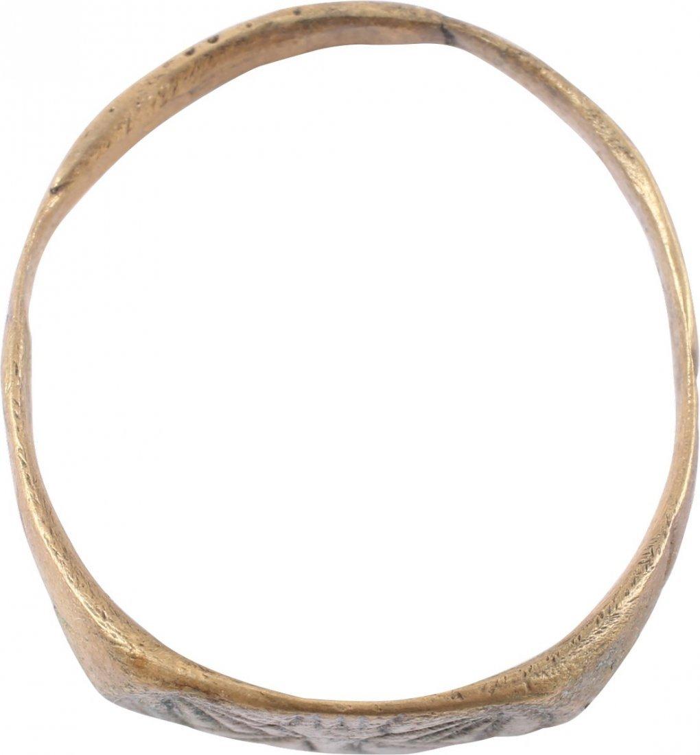 Bronze Viking Seaman's Ring, 850-1050 A.D. - 2