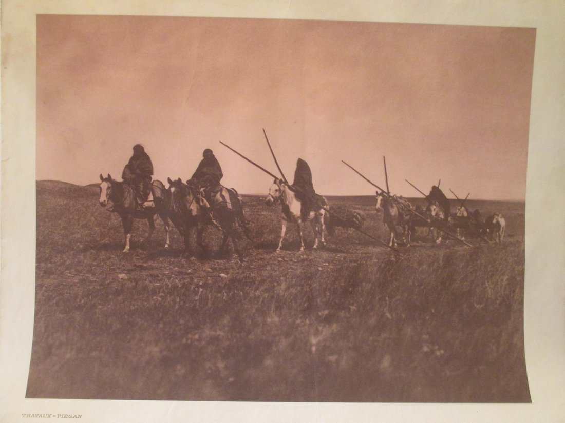 Edward S. Curtis: Travaux - Piegan