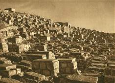 Karl Grober Jewish Graves in Valley of Johoshaphat