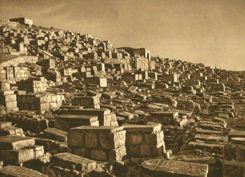 Karl Grober: Jewish Graves in Valley of Johoshaphat