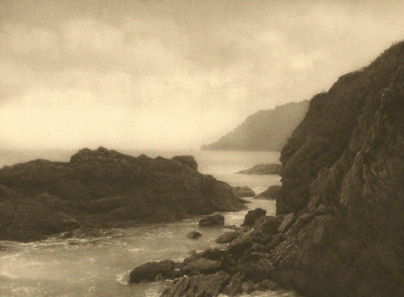 E.O. Hoppe: Coast at Salcombe, Devon