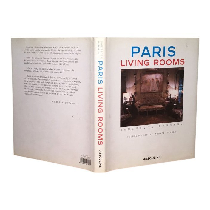 Paris Living Rooms by Dominique Nabokov - Signed