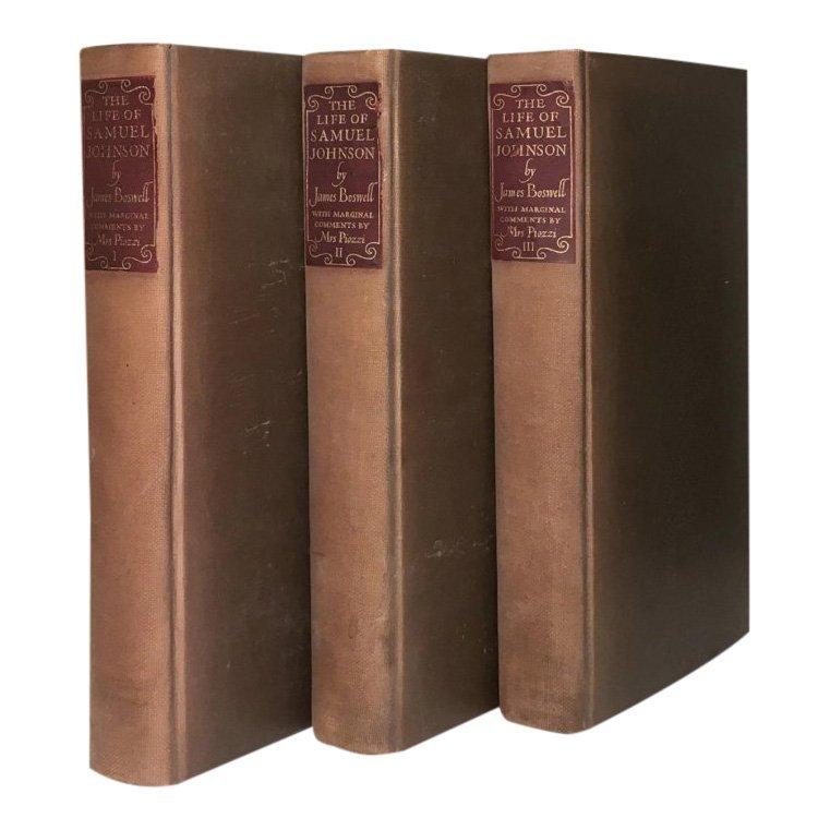 The Life of Samuel Johnson, 1938 - 3 vols