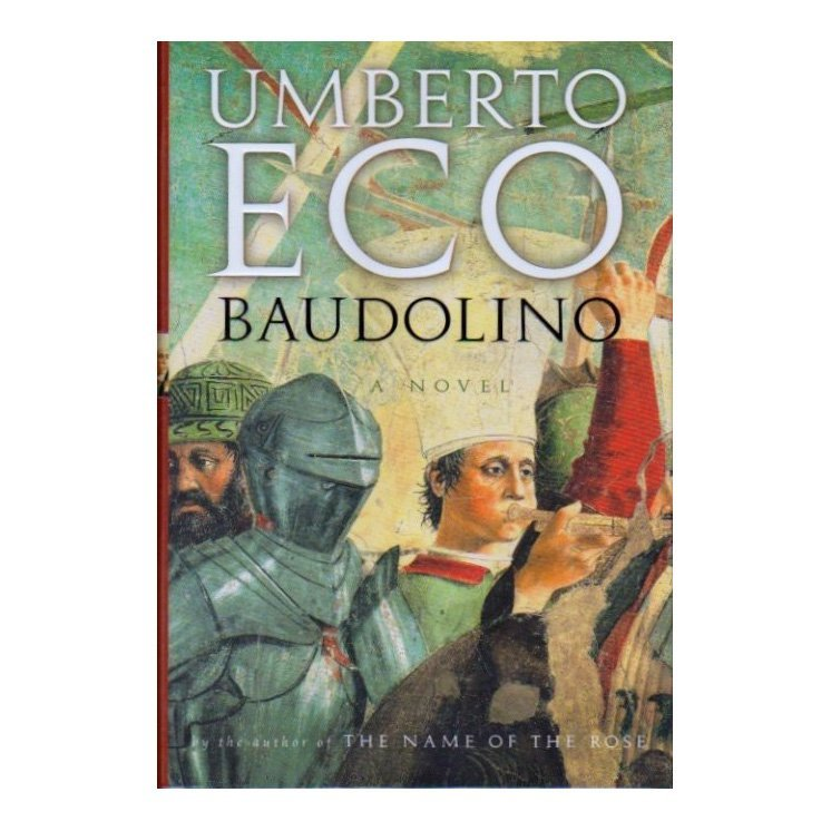 Baudolino by Umberto Eco, 2002