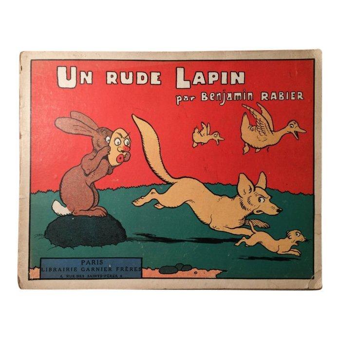 Un Rude Lapin by Benjamin Rabier, 1930