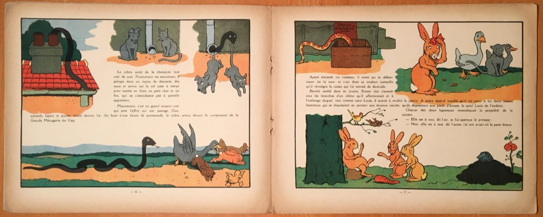 Un Rude Lapin by Benjamin Rabier, 1930 - 5