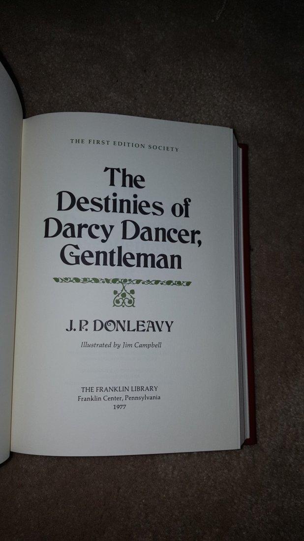 Lot of 4 Irish Classics: Joyce, Sterne, Swift, Donleavy - 8
