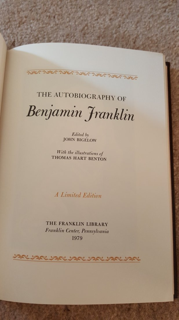 Lot of 4 Classic Biographies: Plutarch, Ben Franklin - 4
