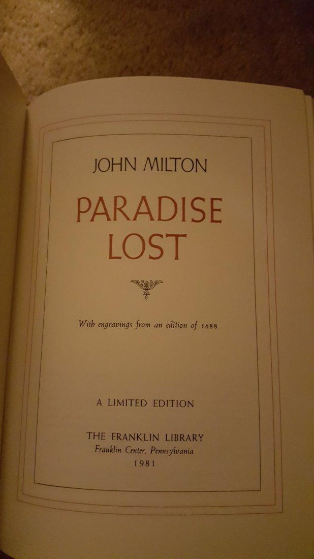 Lot of 3 Poetry Classics: Milton, Blake, Baudelaire - 3