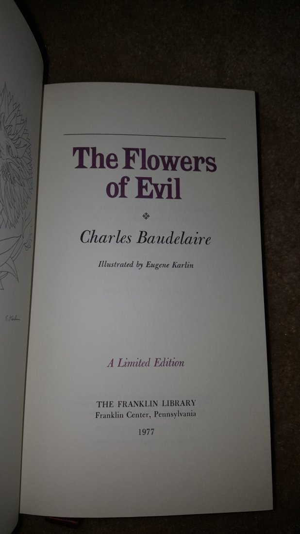 Lot of 3 Poetry Classics: Milton, Blake, Baudelaire - 9