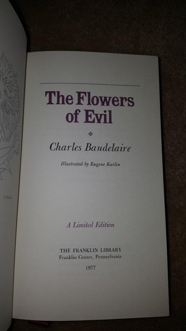 Lot of 3 Poetry Classics: Milton, Blake, Baudelaire - 9
