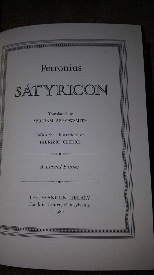 Satyricon by Petronius, 1980 - 4