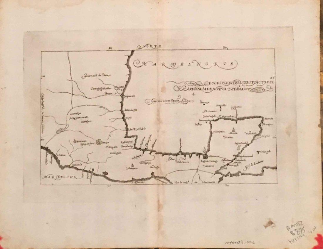 Nueva Espana, Antonio Herrera Tordesillas 1601