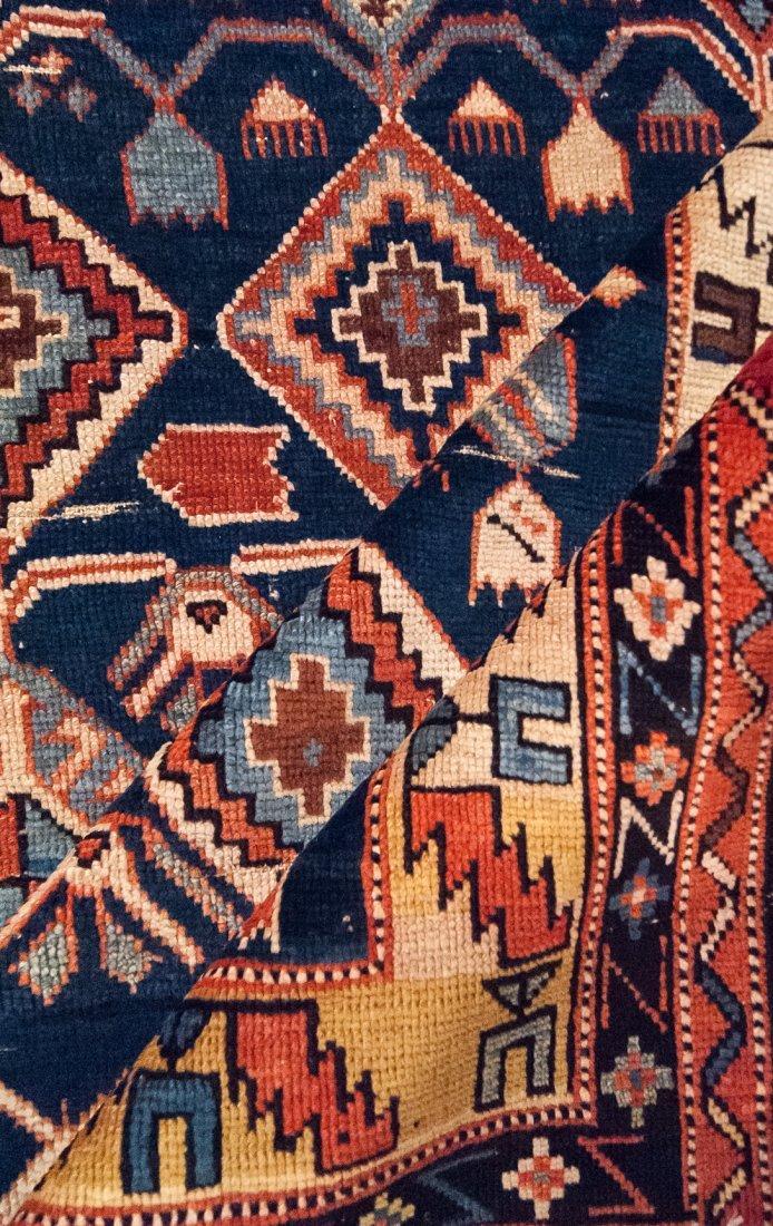 Antique Shirvan Caucasian Wool Rug, 4x4 - 4