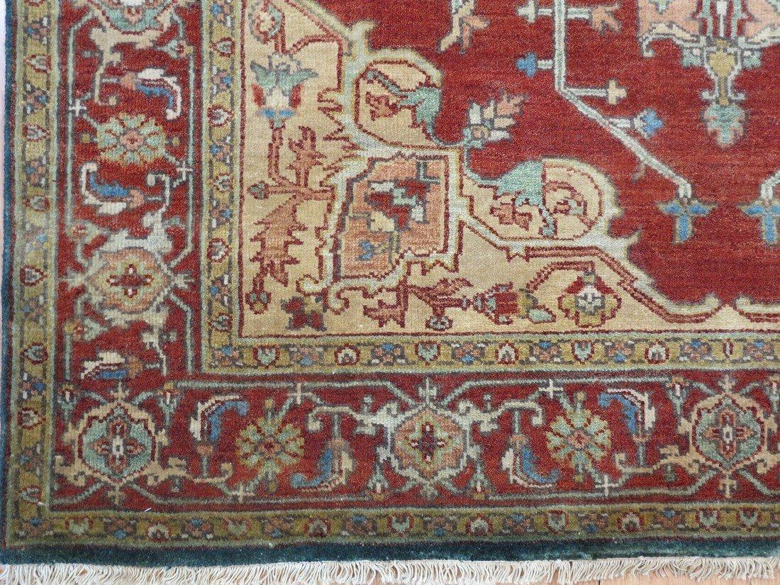 Rare Allover Wool Serapi Area Rug, 6x9 - 4