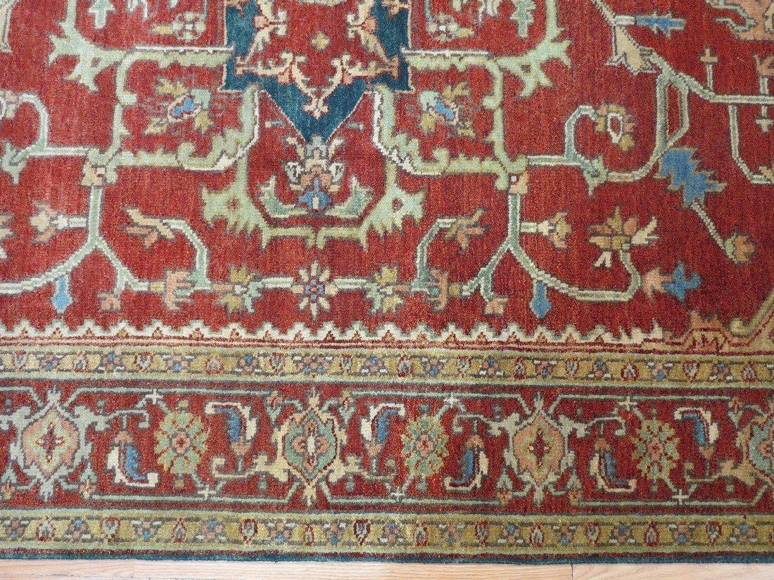 Rare Allover Wool Serapi Area Rug, 6x9 - 5