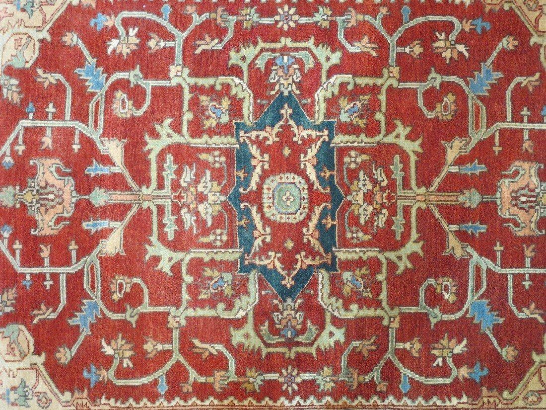 Rare Allover Wool Serapi Area Rug, 6x9 - 6