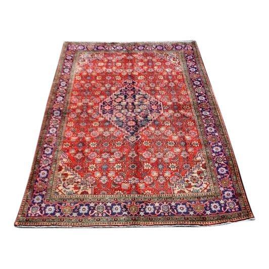 Persian Wool Handmade Tabriz Rug, 8x4