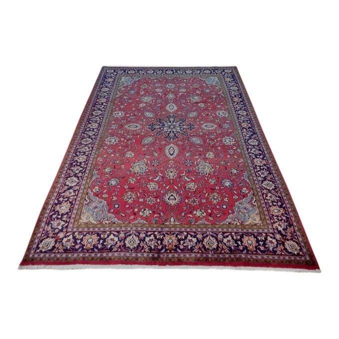 Semi-Antique Persian Wool Sarouk Rug, 7x11