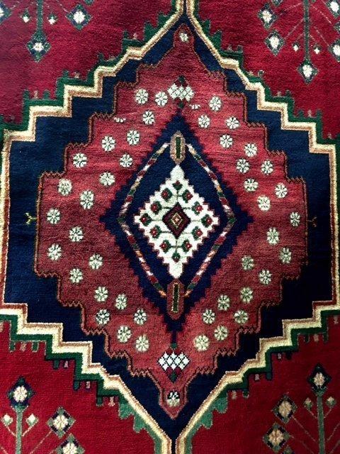 No Reserve Original Hand-made Persian Area Rug 5.7x 7.8