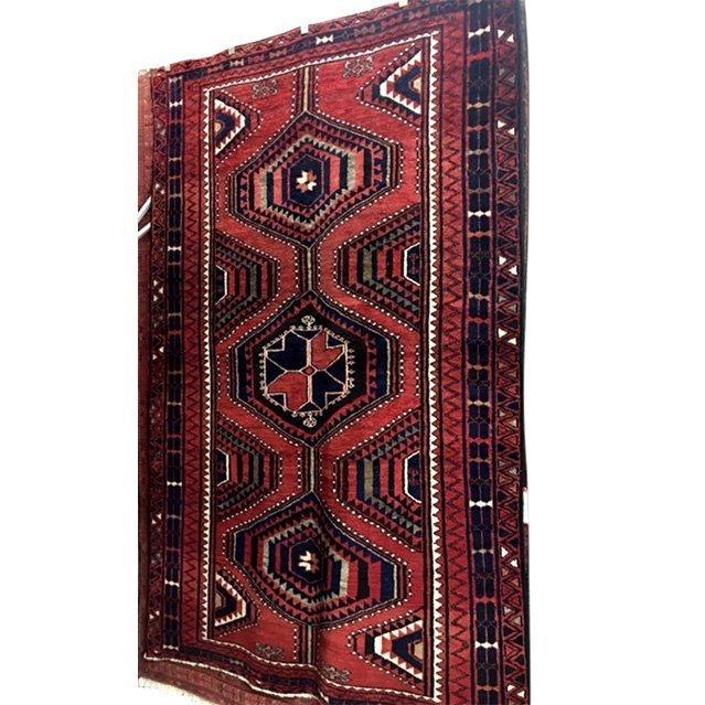 No Reserve Original Hand-made Persian Area Rug 5.6x8.2