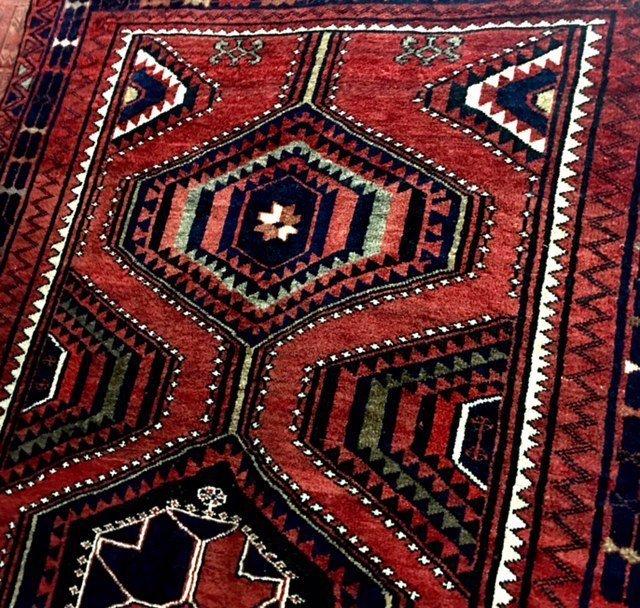 No Reserve Original Hand-made Persian Area Rug 5.6x8.2 - 2
