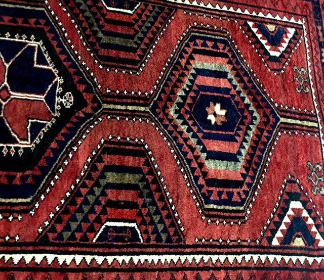No Reserve Original Hand-made Persian Area Rug 5.6x8.2 - 3