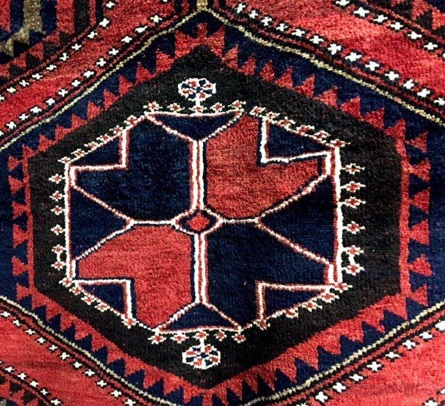 No Reserve Original Hand-made Persian Area Rug 5.6x8.2 - 4