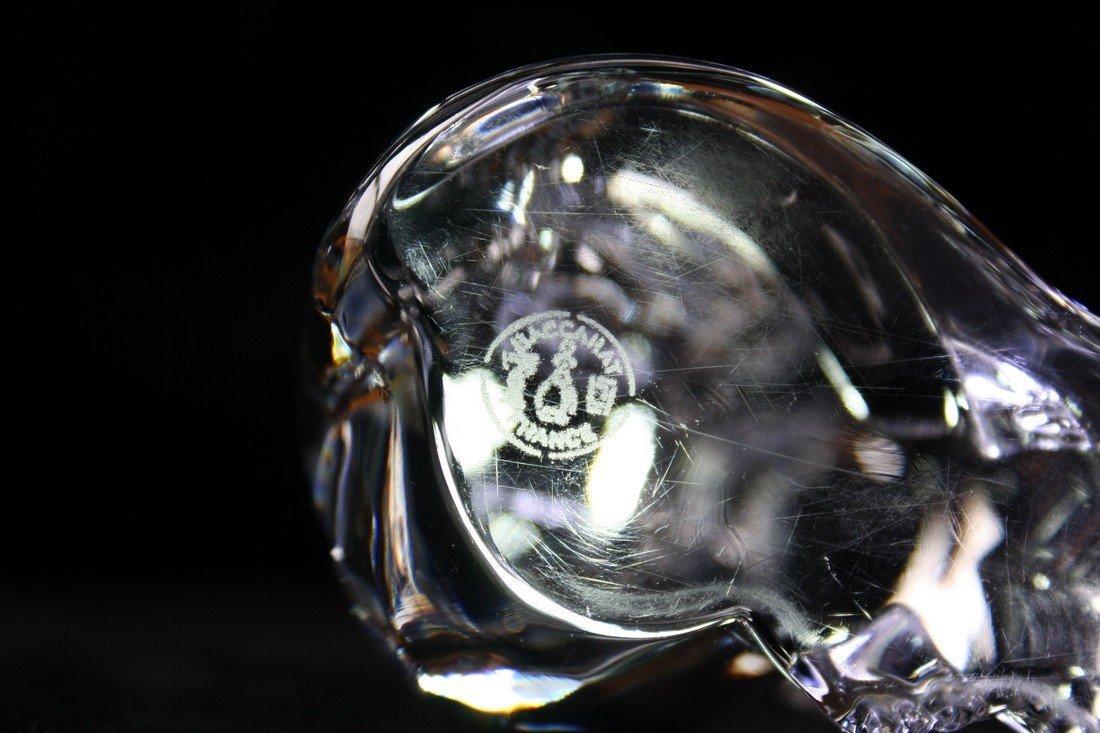 Baccarat Crystal Cat Figurine - 9