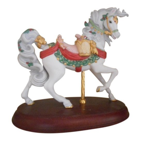 Lenox Figurine: Carousel Porcelain Pony