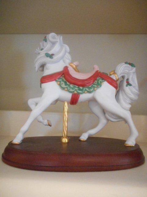 Lenox Figurine: Carousel Porcelain Pony - 3
