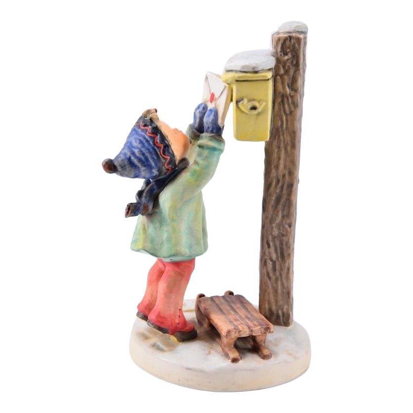 Hummel Figurine: Letter to Santa