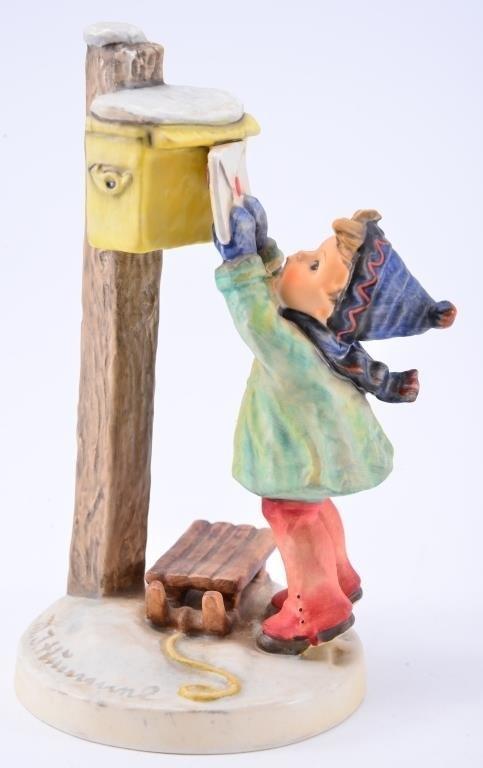 Hummel Figurine: Letter to Santa - 3