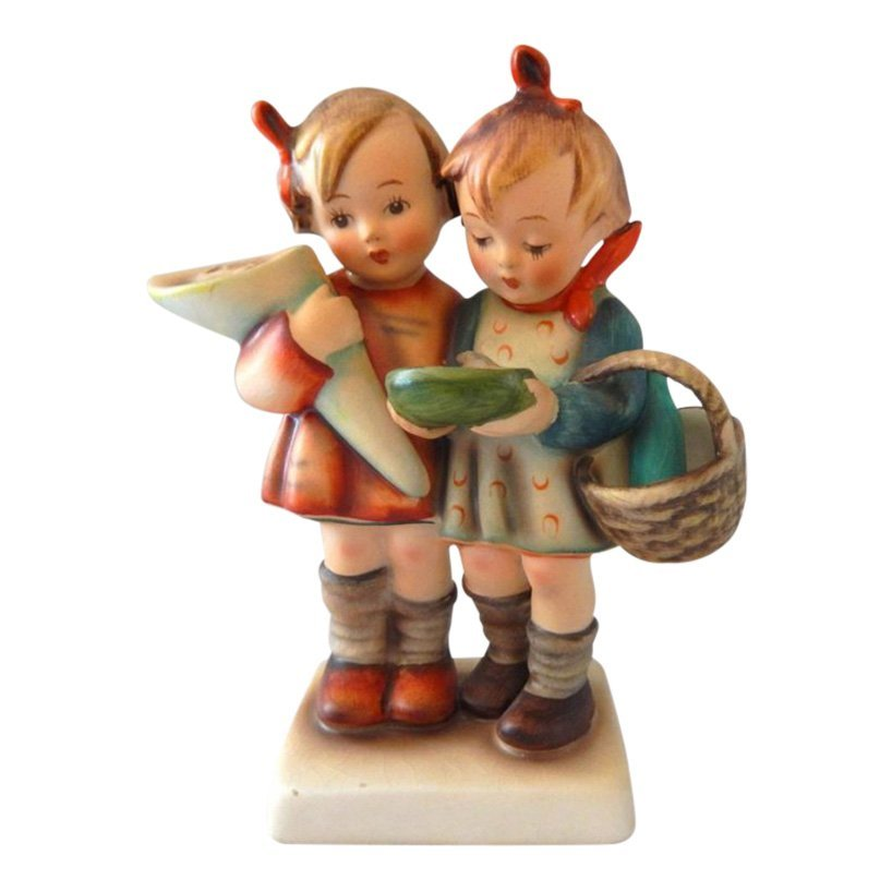 Hummel Figurine: Going To Grandma's