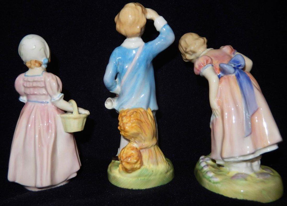 3 Royal Doulton Figurines - 2