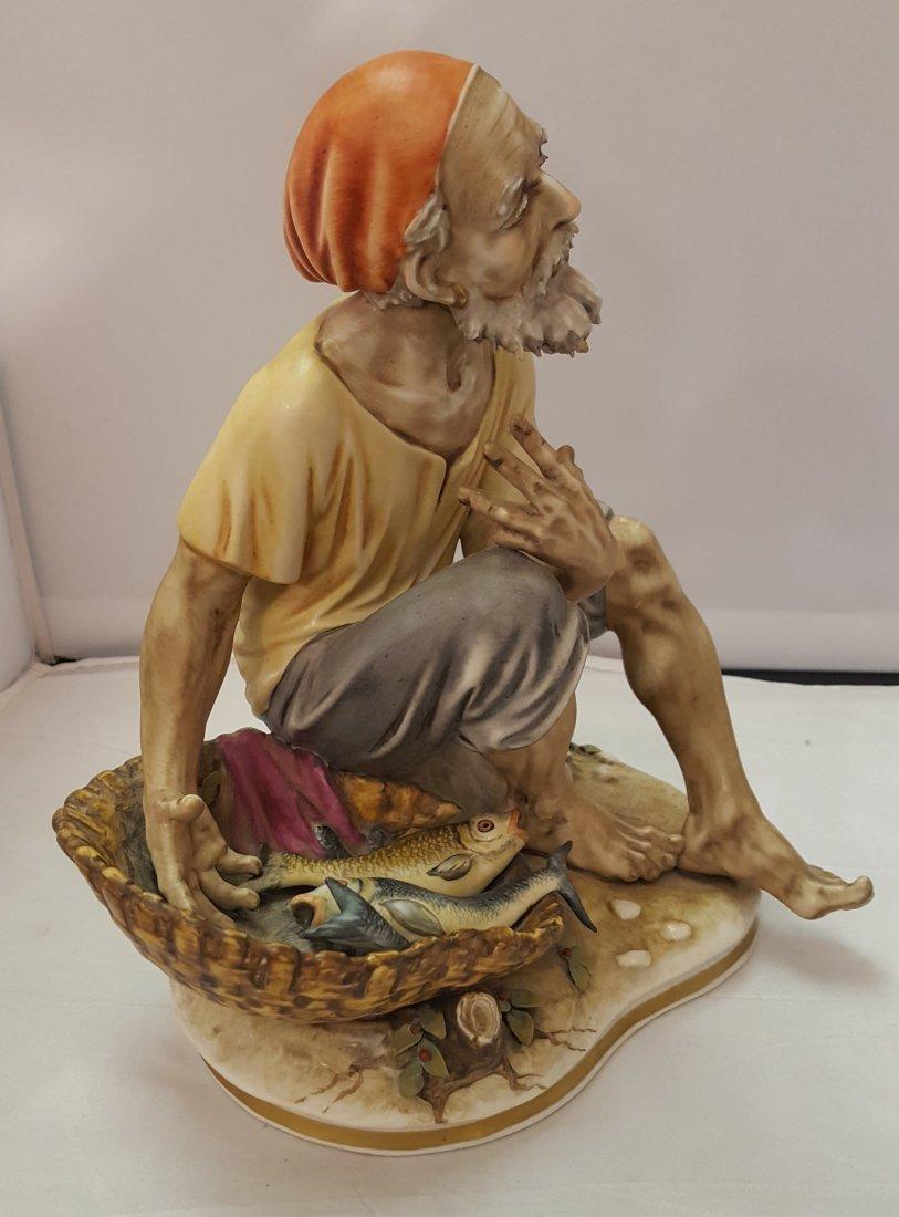 Old Fisherman Porcelain Figurine, 1920's - 4