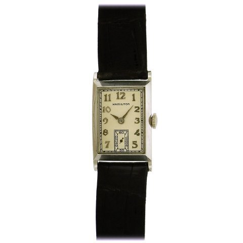 Hamilton Rutledge Tank Watch, 1937 - 2