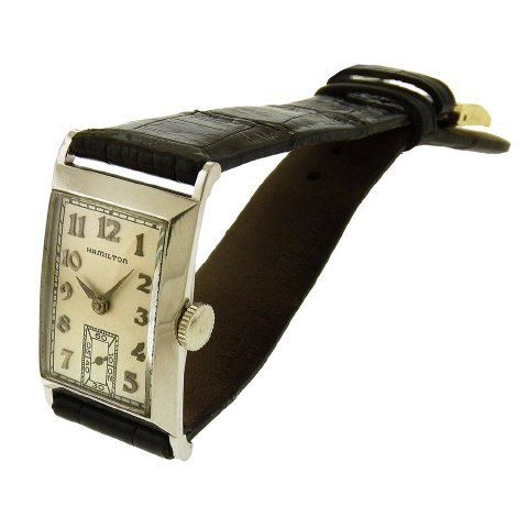 Hamilton Rutledge Tank Watch, 1937 - 3
