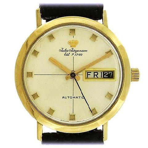 Jules Jurgensen Day-Date Automatic Watch, 1960's