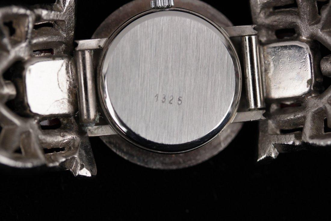 Vintage Carlo Zini Crystal Rhinestones Wristwatch - 7