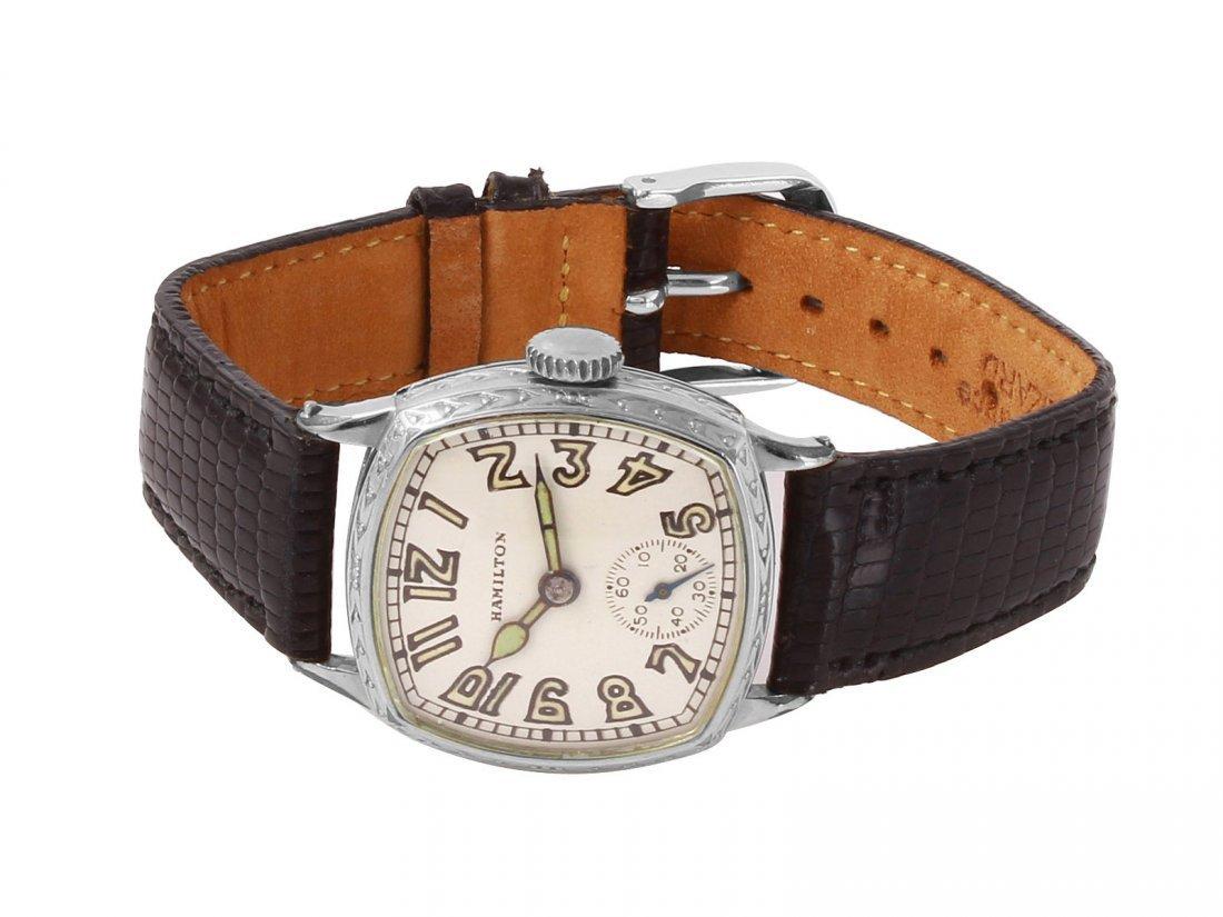 Hamilton Manual Wind 14K Gold Filled Wristwatch - 2