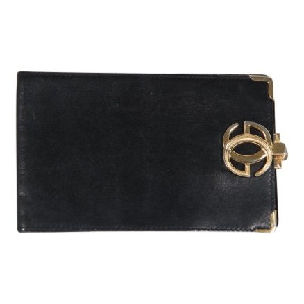 Gucci Vintage Black Leather Wallet