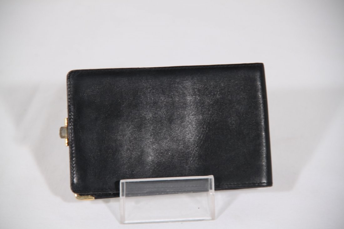 Gucci Vintage Black Leather Wallet - 2