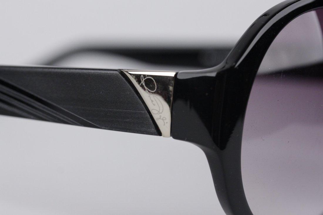 Romeo Gigli Black Oversized Sunglasses - 3