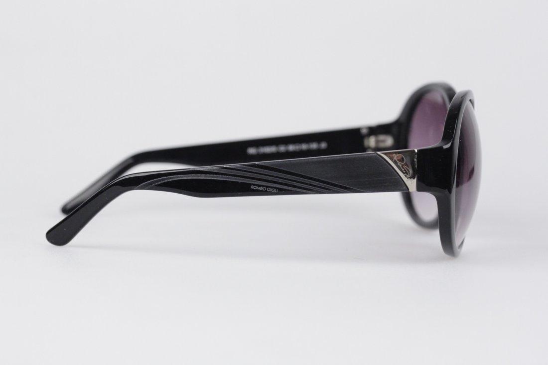 Romeo Gigli Black Oversized Sunglasses - 4