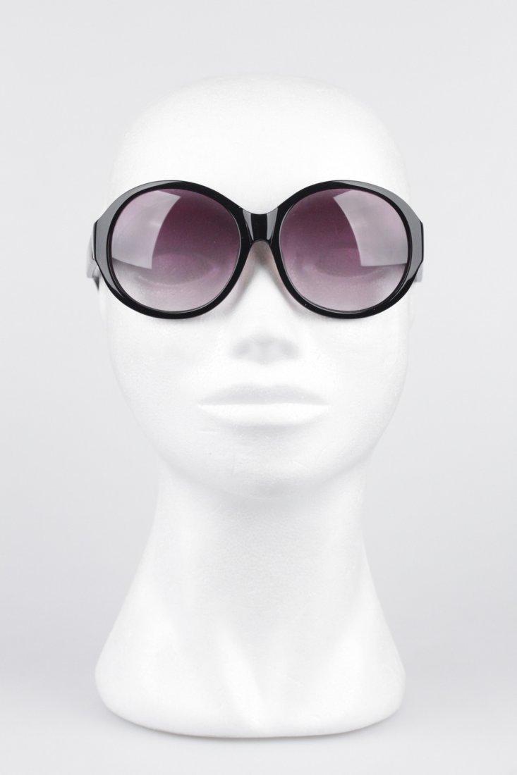 Romeo Gigli Black Oversized Sunglasses - 7