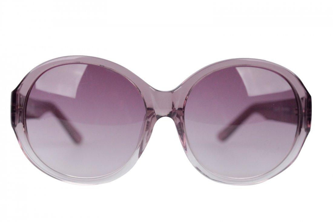 Romeo Gigli Purple Oversized Sunglasses