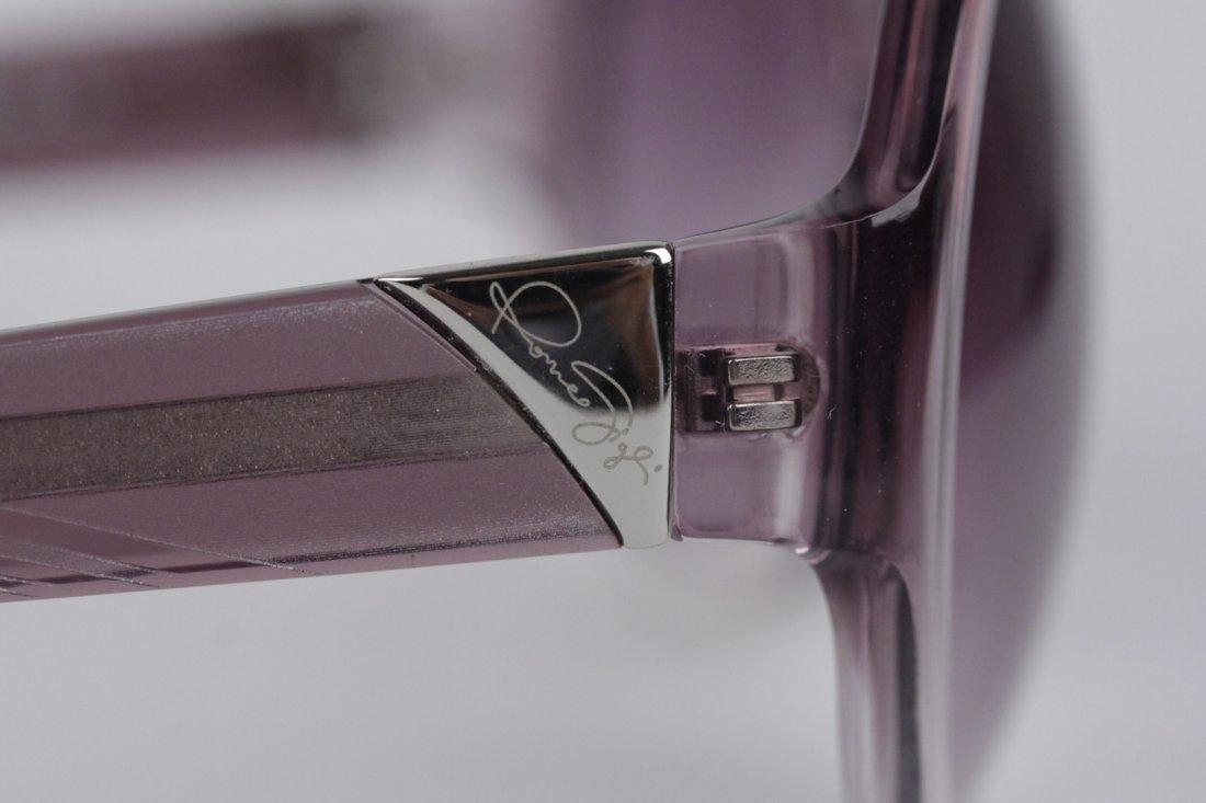Romeo Gigli Purple Oversized Sunglasses - 3