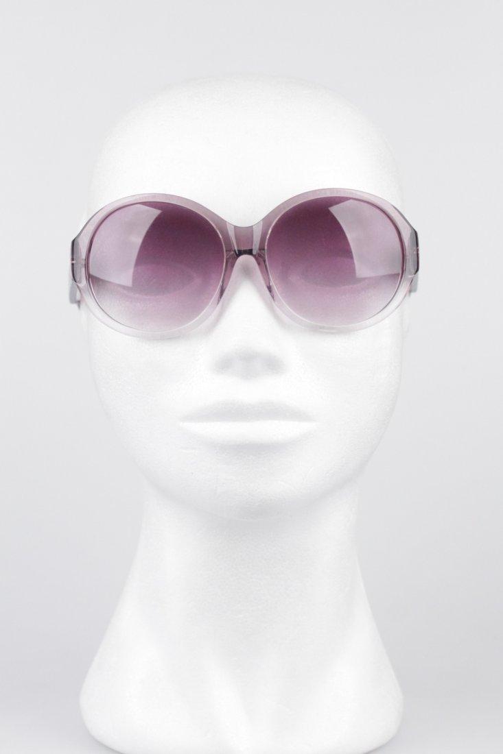 Romeo Gigli Purple Oversized Sunglasses - 4