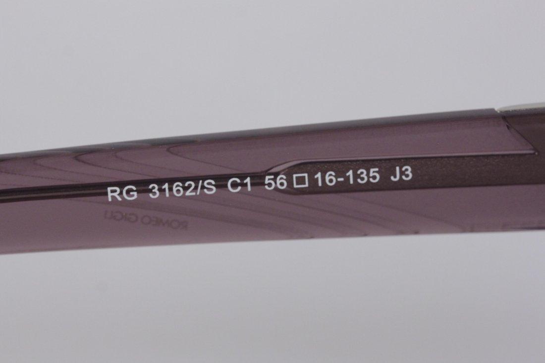Romeo Gigli Purple Oversized Sunglasses - 5